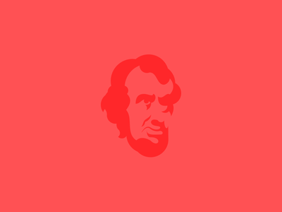 Lincoln lincoln presidents red illustration