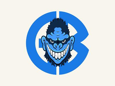 Gorilla Biscuits 2.0 punk straightedge hardcore affinitydesigner gorilla biscuits music illustration blue