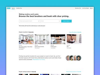 New AVVAY Homepage ✨ community creative marketplace ui