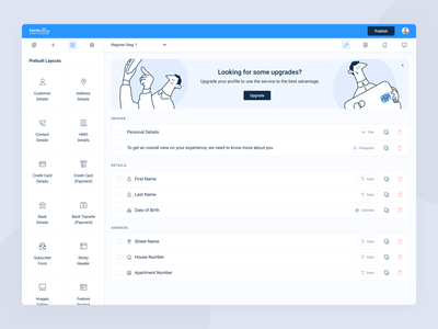 Formally   Dashboard app web user interface user experience ui ux product design minimal dashboard minimal design interface illustration dashboard app clean design builder dashboard design dashboard application design animation