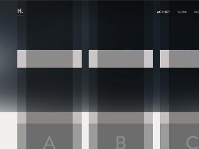 Gridz grid grids web design wireframe website