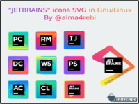 "Design icons ""JETBRAINS"" in inkscape 0.92"