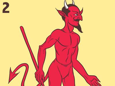 El Diablito - Loteria Card