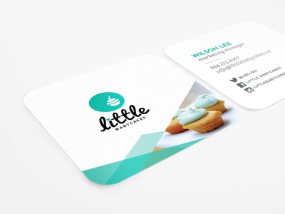 Little Babycakes Business Cards