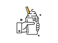 Ice Cream Illustration for Client