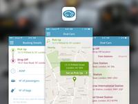 Oval Cars app