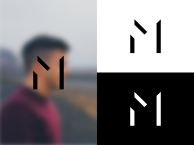 Personal Brand / Identity m monogram typography logo personal branding brand identity