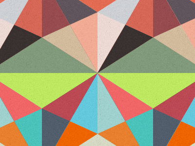 Patternsss & Patternsss color palette triangles