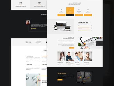 Smiley Multi-Purpose Web Template template photoshop multi purpose fresh clean web ux ui flat
