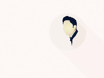 Minimal Portrait  illustrator illustration portrait minimal