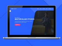 MateriaLab - Material Design HTML Template