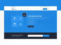 Hosting Site Template Design