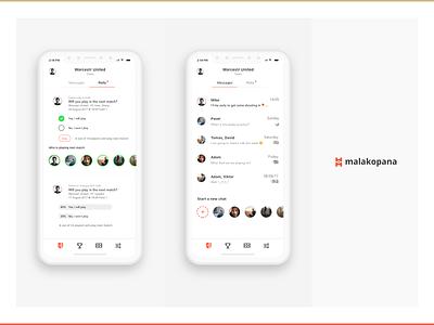 malakopana uiux design app app design iphone interface ui