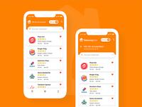 🍴 Takeaway.com Redesign