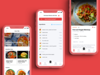 Chefman Recipe Ingredients 👨‍🍳 app scroll cuisine chefman kitchen smart home shopping list shopping sous vide cooking app cooking list ingredients recipe book recipe app recipes recipe