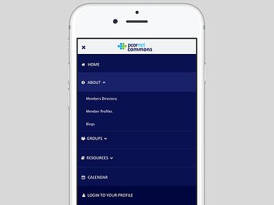 Mobile Menu responsive design ui design menu design mobile design interaction design ui