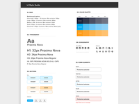 WIP UI Style Guide