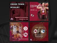 Meredith College Basketball Social Options