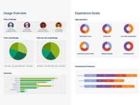 Persona Overview Data Visualization - UX Research