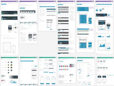 WIP - UI Kit / Component Library atomic design screenshot sketch app sketch ui  ux design pattern library style guide component library ui kit ux ux design ui design ui