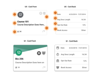 How does card UX transition in to UI?