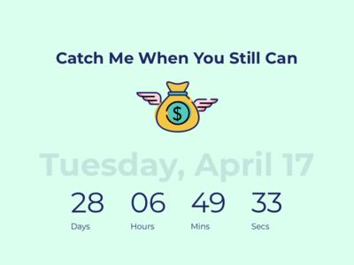 Daily UI Challenge #14 Countdown