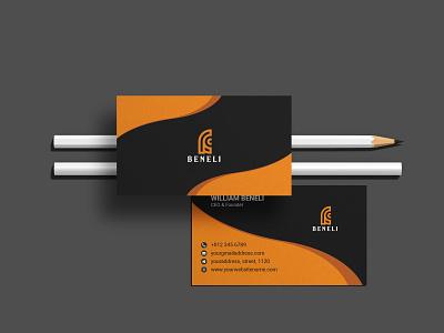 Professional Business Card Design graphic design logo simple design card business custom tamplate free creative minimal print ready mockup professional design business card design business card