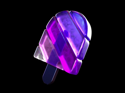 Popsicle popsicle 3d octane octane render cinema4d