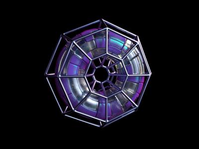 Fracture metal render octanerender cinema4d