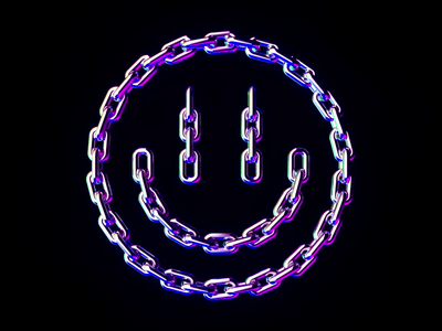 smile chain octane c4d smiley chains