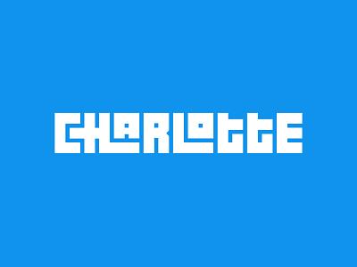 Charlotte queencity qc northcarolina nc charlotte interlocking type