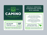 Camino label details