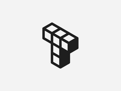 T block logo