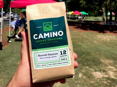 Camino Coffee Bags coffee packaging coffee bag roaster branding mark logo packaging label coffee bag
