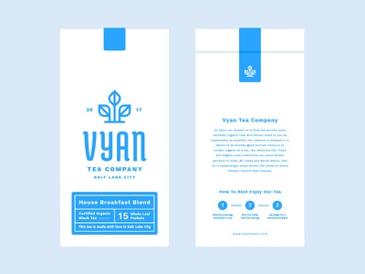 Vyan Bag Mockups organic branding mark logo mockup packaging bag tea