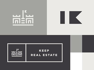 Keep Real Estate pt.1 real estate k keep castle trademark mark branding logo