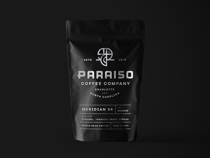 Paraiso Packaging Mockup bird identity coffeebag bag logo mockup branding coffee packaging