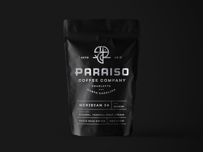 Paraiso Packaging Mockup bird identity coffeebag bag logo mockup branding coffee packaging
