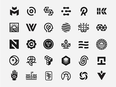 Logos & Trademarks identity type letter bird branding brand mark icon trademark logo