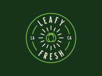 Leafy Fresh Logo
