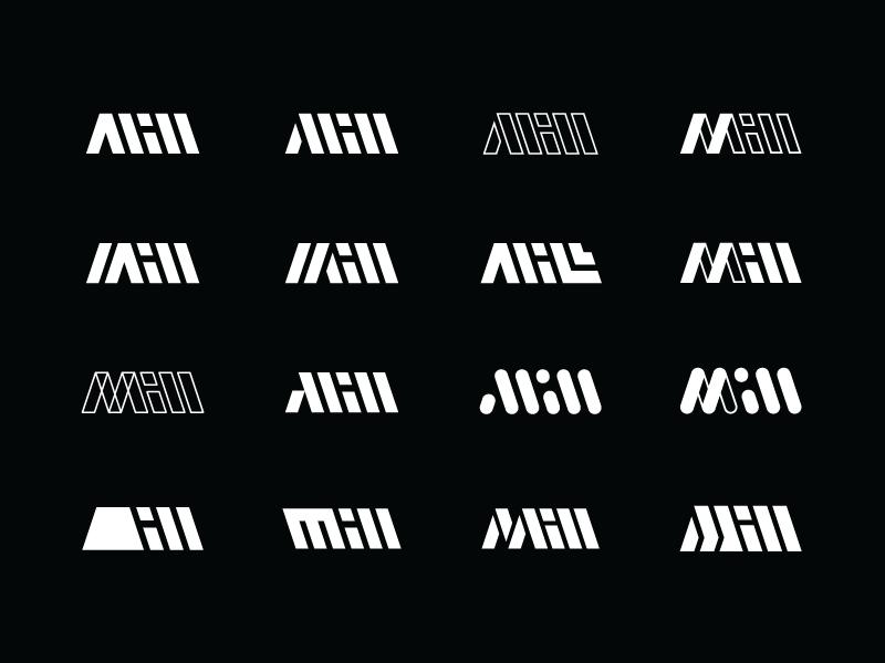 The Mill pt. 2 wordmark mark mill m identity branding brand logo the mill