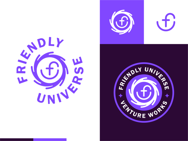 FU pt. 4 branding brand face logo lockup badge monogram smiley face smile universe friendly fu
