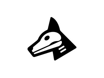 Dog Skull puppy vector xray mark illustration icon tattoo skull dog