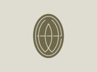 Earth Works Concept 2 w e type pottery branding brand logo seal badge monogram ew