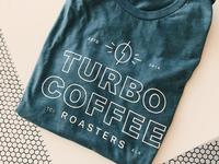 Turbo coffee tshirt