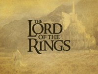 The Lord of the Rings by Frodo Baggins