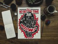 Meeow illustration