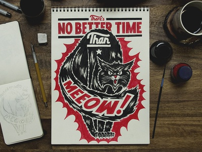 No Better Time Than Meeow