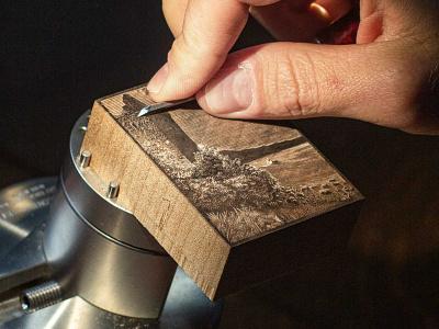 Live Stream: Wood Engraving Basics line art printmaking wood engraving engraving hand made handmade illustration