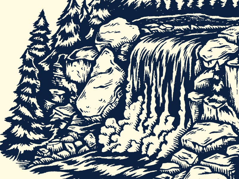 Waterfall yondr studio